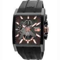 Relógio Technos Masculino Performance Sports Carbon Os1aaf/8