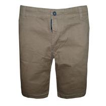Bermuda Jeans Calvin Klein Marrom Ck33