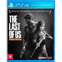 The Last Of Us Remastered Ps4 - Primária E Jogo Dublado