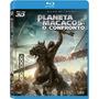 Blu-ray 3d + Blu Ray Planeta Dos Macacos: O Confronto