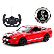 Carrinho C. Remoto Ford Mustang Shelby Gt500 7 Funções 1/14