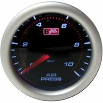 Auto Gauge Pressão De Ar 10 Bar 52mm Serie Smoke