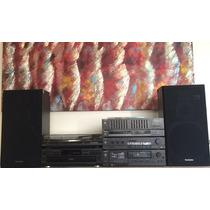 Sistema De Som Vintage Technics (5 Hi-fi Componentes)