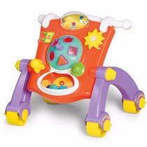 Andador Infantil Didático Calesita Brinquedo 3 Em 1 Original