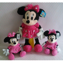 Kit Minnie Rosa De Pelúcia