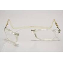 Armação Oculos Grau +2,5 Transparente Imã Promoção Csy Usa