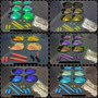 Kit Borrachas Completo P/ Oakley Juliet - Squared - Doublex