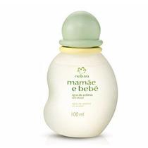 Água De Colônia Mamãe Bebê Natura Sem Álcool 100ml