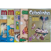 Turma Da Monica Coleção Histórica Lote Com 5 Gibis