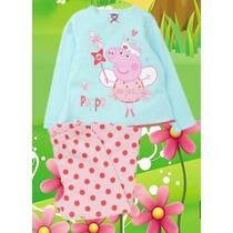 Pijama George Pig E Peppa Pig- Importado - Pronta Entrega!