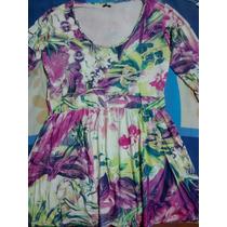 Lindo Vestido Estampa Floral, Super Moderno,com Ótimo Preço!