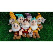 Sete Anões Da Branca De Neve Em Plush - Original Disney