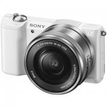 Câmera Sony Alpha Ilce-5000l Kit 16-50 + 16gb Memória Sd