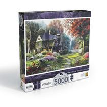 Quebra Cabeça Puzzle Grow 5000 Peças Jardim Vitoriano 03097