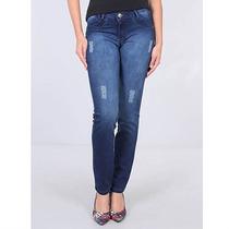 Calça Jeans Super Elástica Feminina Max Denim