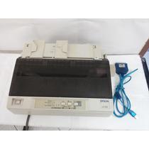 Impressora Epson Lx-300 Completa Com Cabo Adaptador Usb
