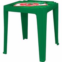 03 Jogos De Mesas E Cadeiras Plásticas Para Bar, Clube Etc
