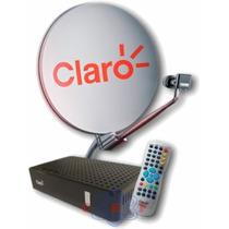 Claro Tv Livre Kit Completo Com Antena De 60cm Promoção