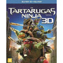Blu-ray 3d + 2d As Tartarugas Ninja - O Filme - Original