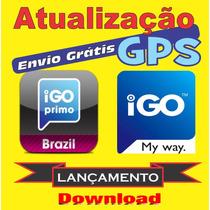Atualização Gps Igo Primo My Way Amigo Avisa Radares E 3d