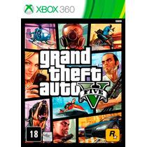 Jogo Game Gta 5 V Original Xbox 360 Usado Pelo Menor Preço