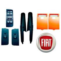 Kit Vidro Elétrico Fiat Siena Hlx Elx Traseiro 2010 Ftse014