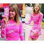 Capa Capinha Case Moschino Espelho Barbie Rosa Iphone 4 4s
