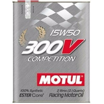 Kit C/2 Latas Motul 300v 15w50 Óleo Competition 2 Lts