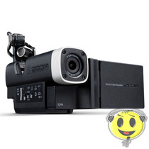 Câmera Digital Zoom Q4 Vídeo E Áudio H D Usb Hdmi Kadu Som