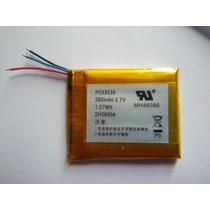 Bateria Para Mp3, Mp4, Mp5, Gps 290 Mah 3,4cm X 2,8cm Nova