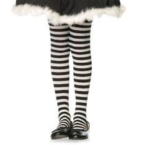 Meia-calça Listrada Preto E Branco Infantil Leg Avenue 7-10