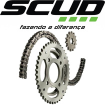 Kit Relação Scud Cg 150 Todas S/ Retentor Moto