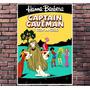 Poster Exclusivo Capitao Caverna Hanna Barbera Retro 30x42cm