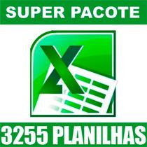 3255 Planilhas Excel 100% Editáveis Frete Grátis - Download