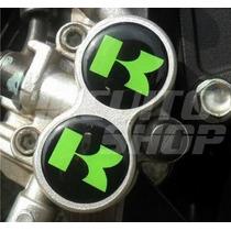 Adesivo Relevo Suporte Freio Moto Kawasaki 250 Frete Grátis