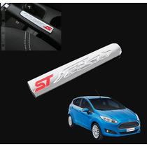 Ford Fiesta Aplique Cromado Freio De Mão Interior Acessorios