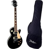 Guitarra Les Paul Shelter Nashville 2 Humbuckers Bk Com Bag