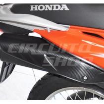 Adesivo Protetor Escape Moto Honda Bros 150 125 -2009 A 2013