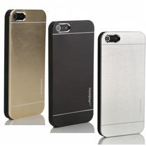 Capa Aluminio Motomo Iphone 6 6s Plus (5,5) + Pelicula Vidro