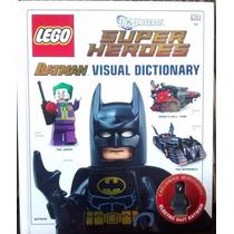 Lego Livro - Super Heroes Batman Visual Dictionary