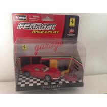 Ferrari Dino 246 Gt Escala: 1/43 - Burago