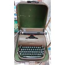 Antiga Maquina De Escrever Remington Quiet-riter