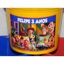 Kit 20 Baldes De Pipoca Personalizados Toy Story 1,5 L