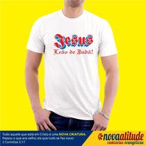 Camisa Evangélica Jesus Leão De Judá