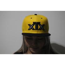 Boné Xtx - Aba Reta - Cor Amarelo - Sedex Grátis