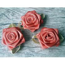 Rosas De Cetim Médio