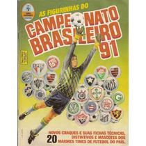 Figurinhas Campeonato Brasileiro 90 91 92 93 94 95 Album