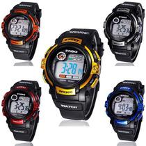 Relógio Esportivo Synoke Original Multifunção Led Cronômetro