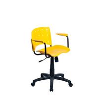 Cadeira Escritório Executiva Cd10 - Amarela