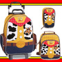 Kit Mochilete Lancheira Estojo Toy Story Woody Dermiwil
